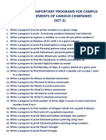 programs for placement set 2