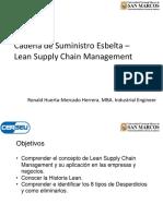 Sesión 3 - Lean Supply Chain Management