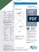 Antena Amphenol LPD-4019