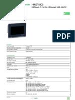 Magelis ST6_HMIST6400