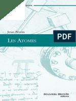 Jean Perrin - Les Atomes-Nouveau Monde Editions (2012)