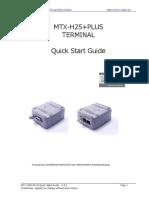 MTX-H25+PLUS Quick Start Guide V3-2