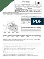 Questão aula 8º CN - Subsistemas terrestres