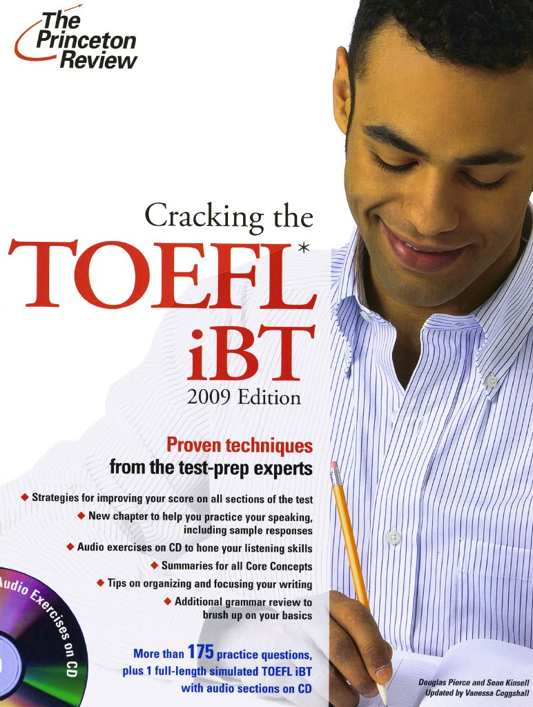 Cracking the toefl ibt book fandeluxe Choice Image