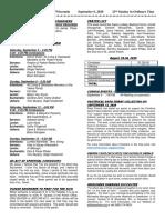 Bulletin 9-6-20