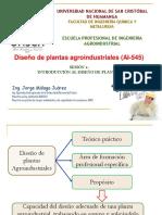 Clase 1 Diseño de plantas agroind. (07-07-2020)