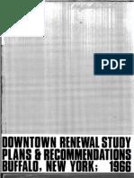 Downtown Renewal Study Buffalo, NY 1966 (BW_OCR)