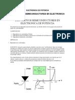 DISPOSITIVOS SEMICONDUCTORES EN ELECTRONICA DE POTENCIA