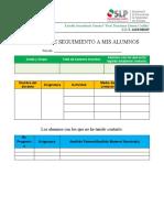 REPORTE DE ACTIVIDADES (DOCENTES)