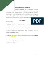 Tema 2, SIGNOS DE PUNTUACIÓN