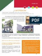 2013-10-30 Le rôle d'un architecte - dossier