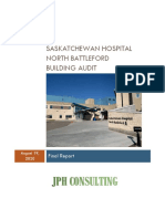 Saskatchewan Hospital North Battleford audit report