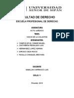 VICIOS DE VOLUNTAD RESUMEN COMPLETO