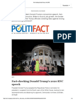Fact-checking Donald Trump at the RNC