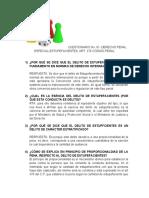 CUESTIONARIO  No 01- DERECHO PENAL ESPECIAL-ESTUPEFACIENTES- (1)