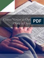 SUBSÍDIO DA LIÇÃO 9 - COMO VENCER AS OPOSIÇÕES À OBRA DE DEUS