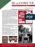 Notizie Dal Comune di Borgomanero del 4-09-2020
