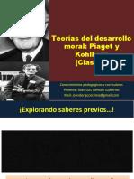 C6 Desarrollo moral Piaget-Kohlberg. Teoría de la disonancia cognitiva 2015