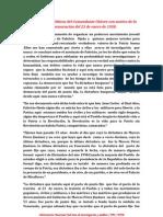 Orientaciones políticas del comandante Chávez con motivo de la celebración del 23 de enero de 1958