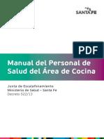 Manual Personal Servicio Cocina