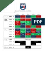 BDO Canadian Open 2011  (Oshawa) Official Draw Schedule