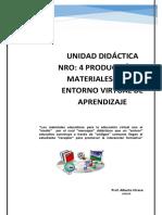 Unidad Didáctica Nro 4 entornos virtuales