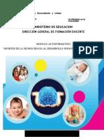 APORTES DE LA NEUROCIENCIA AL DESARROLLO INFANTIL