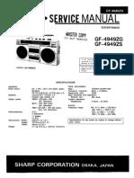 Sharp GF-4949
