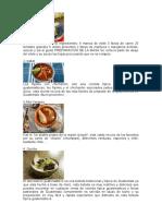 COMIDA TIPICA DE LOS 22 DEPARTAMENTOS DE GUATEMALA
