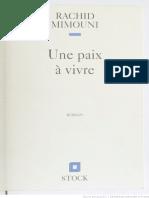 Une peine a vivre - Rachid Mimouni.pdf