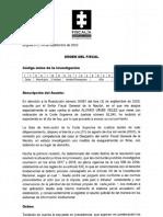 Fiscalía se niega a tumbar detención domiciliaria que Corte impuso a Uribe