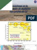 Innovaciones en la exploración de depósitos tipo pórfidos de Cu