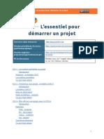 [Script de synthèse MOOC GdP] s2 - L'essentiel pour démarrer un projet [Public] - GoogleDocs
