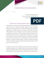 Anexo1 - Paso 1- Reconocimiento de presaberes - Didáctica como ciencia