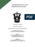 La Sotana y El Clóset, Un Estudio Cualitativo (Tesis de Licenciatura)