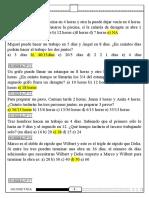 EXAMEN SEMANAL ARITMETICA 24