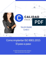 Implementar iso 9001 cuaderno