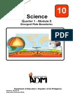 Sci10_Q1_Mod5_DivergentPlate_version3
