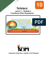 Sci10_Q1_Mod6_TransformPlateBoundaries_version3