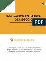 S1 Innovación en la idea de negocio