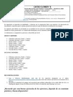 Guía artistica y edu. física sexto - noveno.
