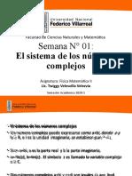 Semana 1  Fisica Matemtatica II (variable compleja)- UNFV