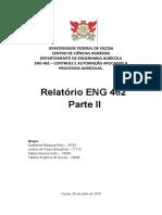 Relatório ENG 462 - 2ª Parte