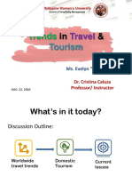 Trends in Travel & Tourism