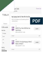 Business - Tesla Coupons