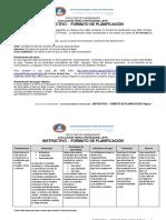 FH EGP PEM INSTRUCTIVO -  FORMATO DE PLANIFICACIÓN