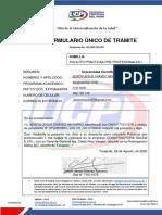 Formato Tramite UCP Filial  - JEISON CHAVEZ