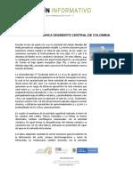 Boletín Mensual de Actividad Volcánica Segmento Central Agosto 2020