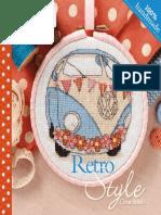 Retro Style Cross Stitch 2014