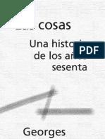 Las Cosas. Georges Perec